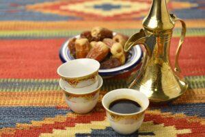 محل فنجان وتمرة لبيع التمور و القهوة العربية في الكويت