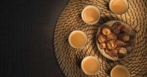 قهوة عربية وتمور الكويت